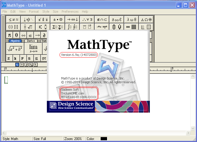 Mathtype software free download crack