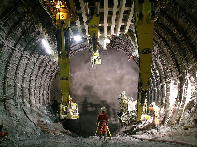 10. Gotthard base tunnel (Switzerland)