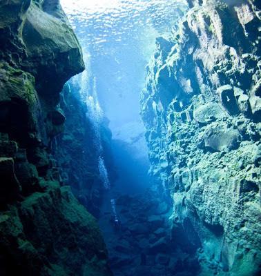 A fissura de Silfra – Islândia