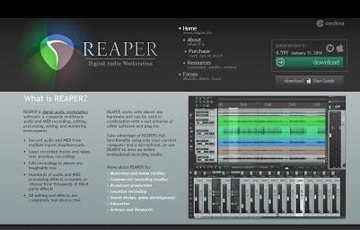 Reaper 4.71 Free Download