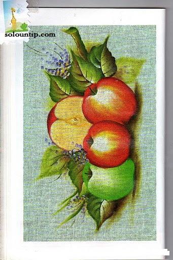 Moldes de frutas para pintar en tela - Dibujos para pintar en tela infantiles ...