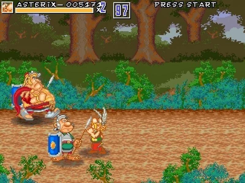 Game Asterix & Caesar's Challenge