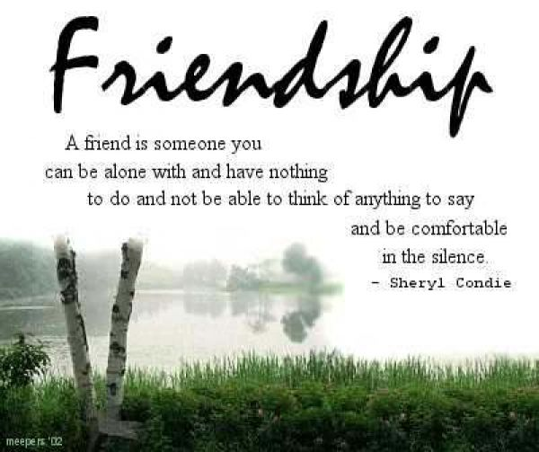 Cute Love Friendship Quote : Cute quotes about friendship