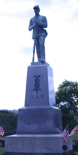 The statue of a soldier is said to come alive in the moonlight at Riverview Cemetery in Huntingdon, Pennsylvania