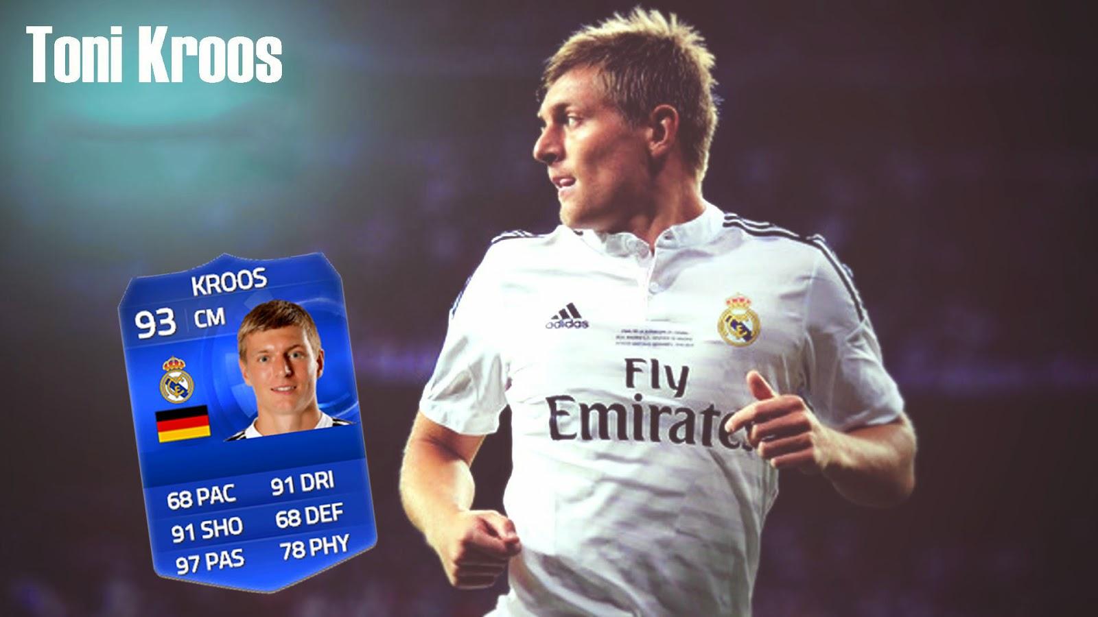Review Kroos TOTY FIFA 15 Ultimate Team