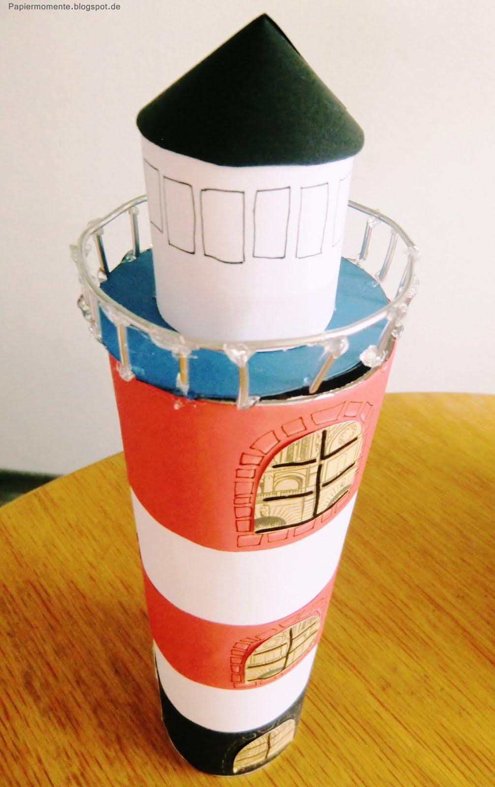 leuchtturm aus pappe basteln   dansenfeesten