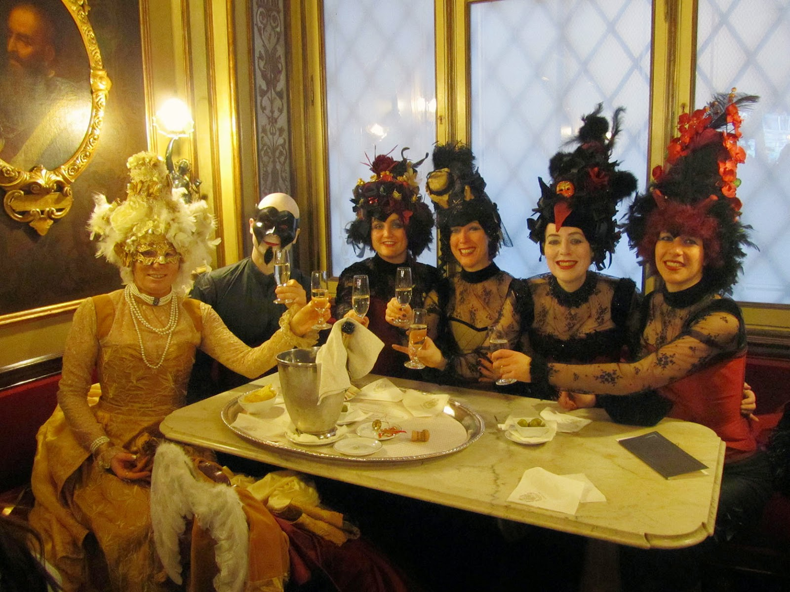 costumed in Venice
