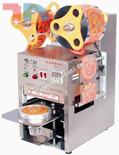 Máy dập nắp cốc trà sữa tự động hoàn toàn inox giá rẻ nhất tại Công ty Thành Nam