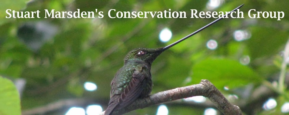 Stuart Marsden's Conservation Research Group