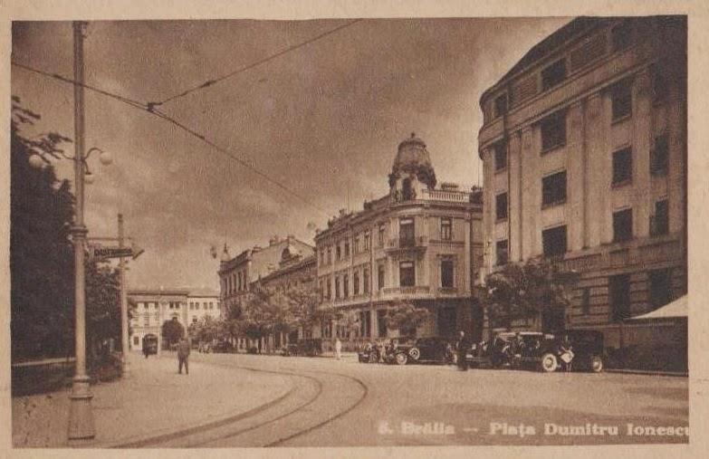 Piata Dumitru Ionescu din Braila de altadata