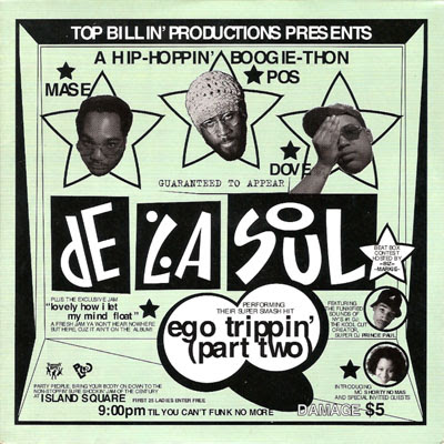De La Soul – Ego Trippin' (Part Two) (CDS) (1994) (320 kbps)