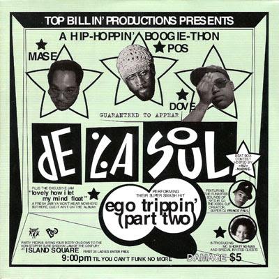 De La Soul – Ego Trippin' (Part Two) (CDS) (1994) (320 kbps)