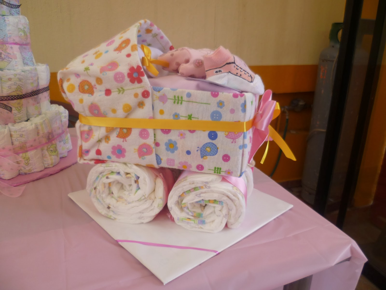 El jard n de mam pulpo cobija de bebe adornada - Envoltorios originales para regalos ...