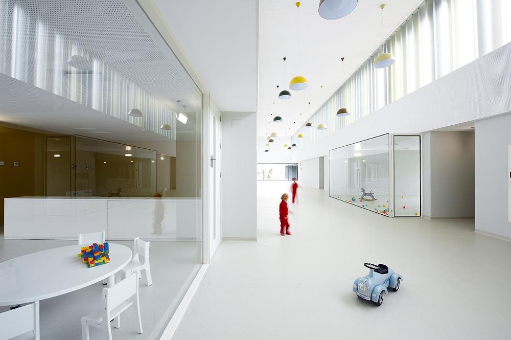 Javier larraz escuela infantil en pamplona hic - Arquitectos en pamplona ...