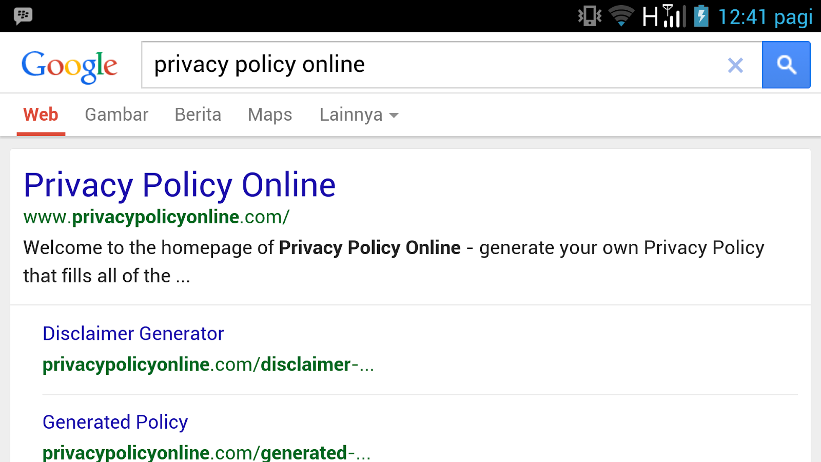 Cara sederhana membuat privacy policy