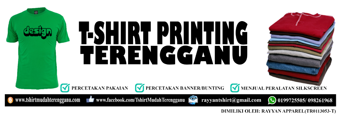T-shirt Mudah Terengganu