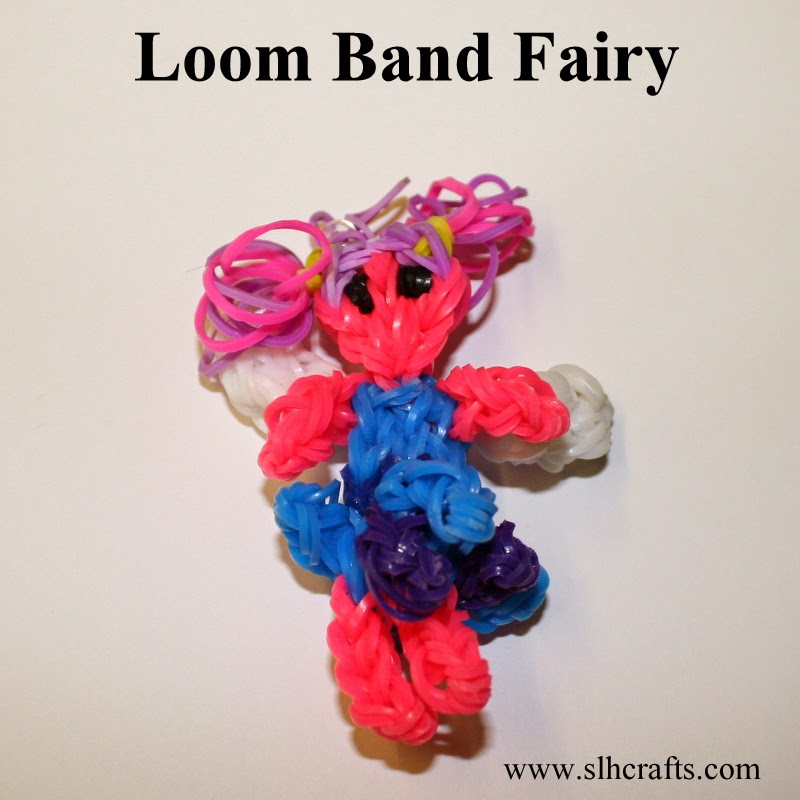 loom band fairy doll
