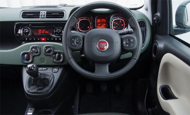 Fiat Panda 4x4 cockpit