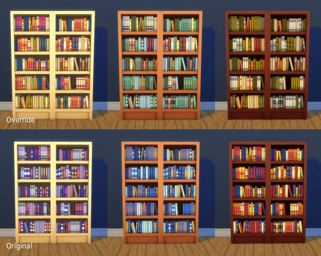 Very Impressive portraiture of My Sims 4 Blog: Towering Intellect Bookshelf Edits by plasticbox with #A88323 color and 1105x880 pixels
