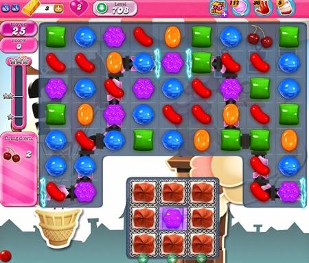 Candy Crush Saga 708