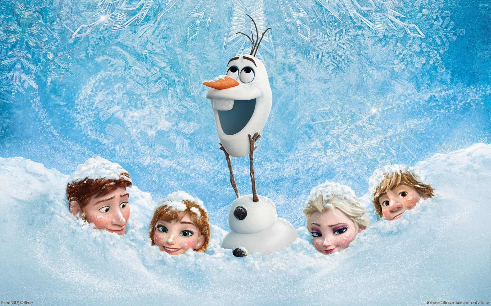 work as the voice of Olaf.