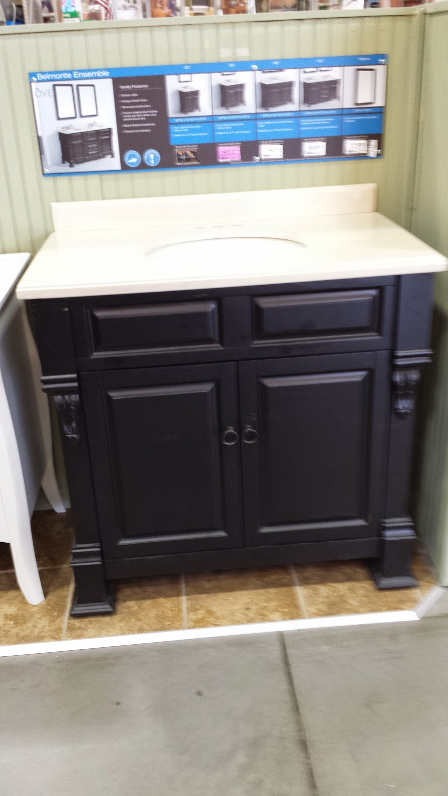 Bathroom Vanities For Less condo blues: the bathroom vanity hunt begins, maybe