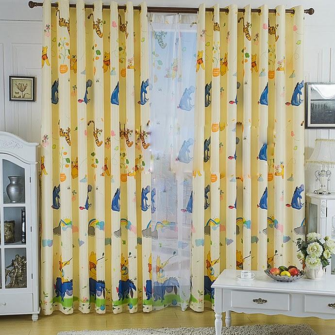 moderne rideau pour les enfants