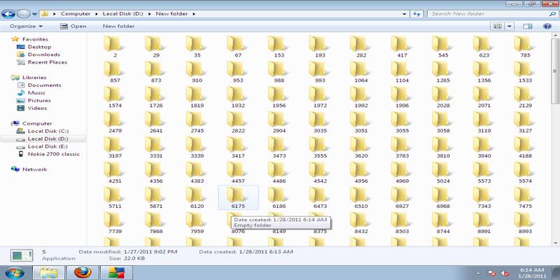Folder Blaster-Make Virus