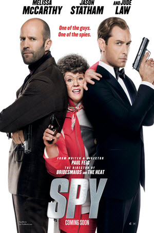 Spy: Official Theatrical Release Poster