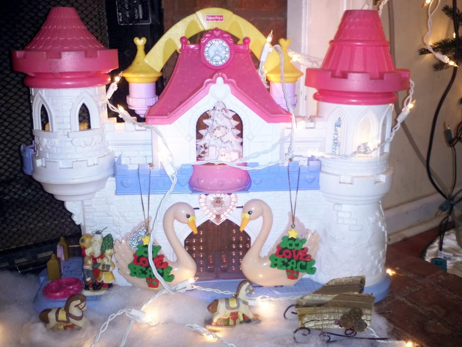 Fisher price princesses castle