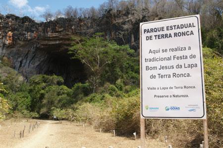 PARQUE ESTADUAL DE TERRA RONCA - A MAIS ESPETACULAR ATRAÇÃO SUBTERRÂNEA COM MAIS DE 200 CAVERNAS- EM GOIÁS