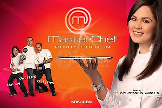 MasterChef Pinoy Edition Cooking Game Show ABS-CBN TV Series