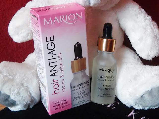 opakowanie serum odmładzającego marion anti age do włosów dojrzałych osłabionych i zniszczonych