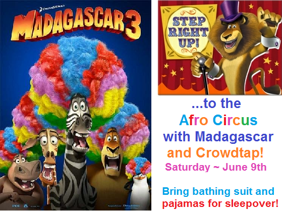Phinger Food Madagascar 3 Circus Circles Most Wanted Party – Madagascar Birthday Invitations