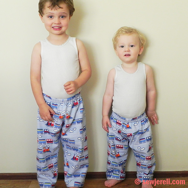 Pj Pants Free Sewing Pattern And Tutorial Sew Jereli