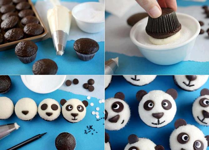 Ayıcıklı Muffin Kek Tarifi Yapımı