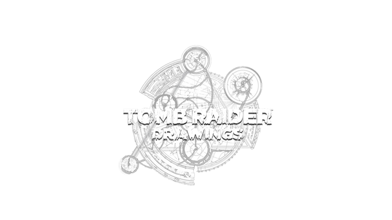 TOMB RAIDER DRAWINGS