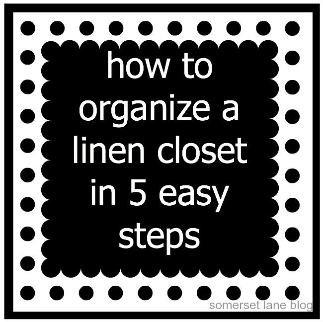 How to organize a closet in 5 easy steps!