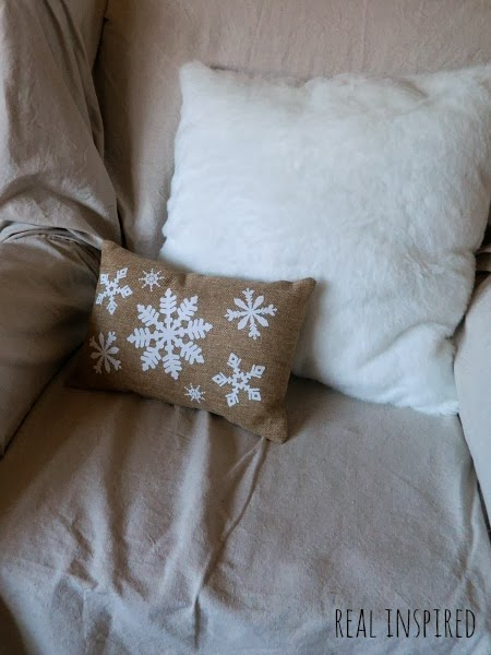 Fur Christmas Pillow