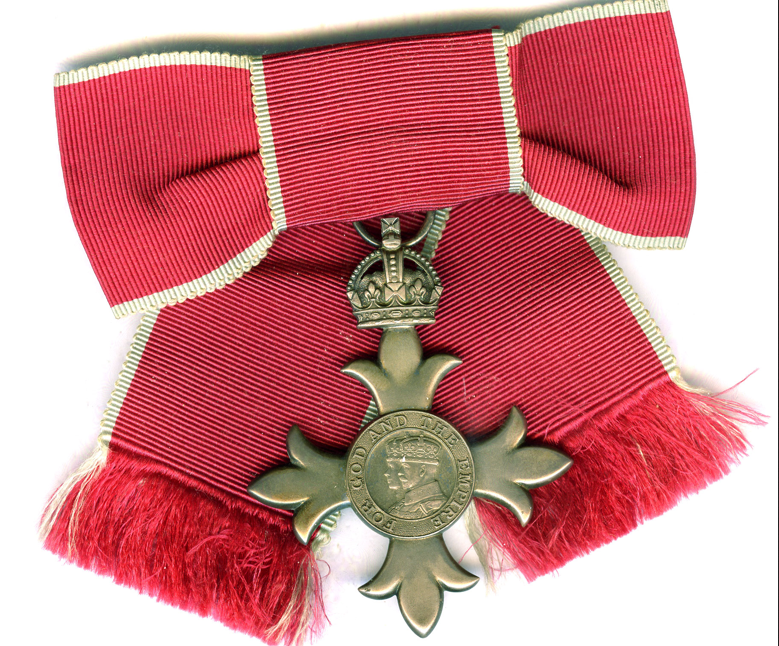 MBE as worn by female awardees
