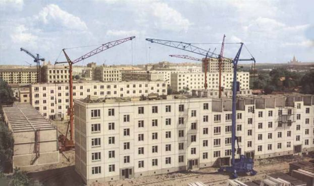 Laboratoire urbanisme insurrectionnel la ville socialiste for Architecture urss