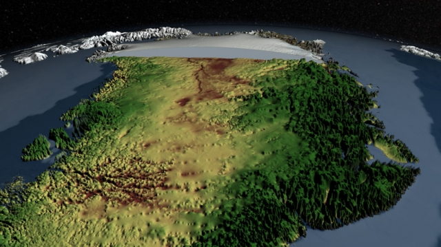 'Mega Canyon' found under Greenland ice