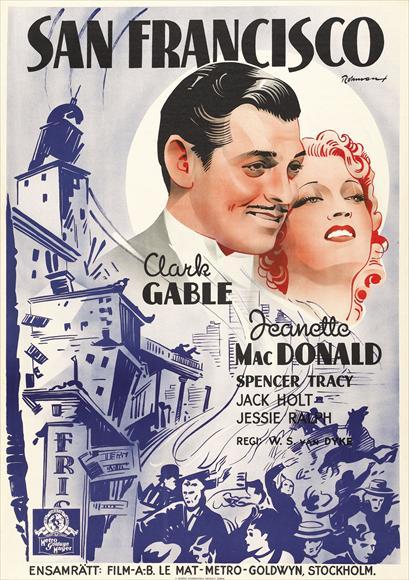 Best Movie Classics Ever Made: San Francisco 1936 - A ...