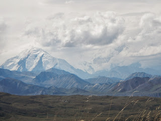 Alaska Range in Denali National Park