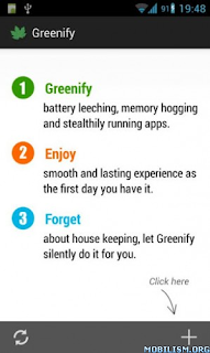 Apps Android : Greenify Donate *ROOT: Renew my Phone v1.9 beta 3 Apk