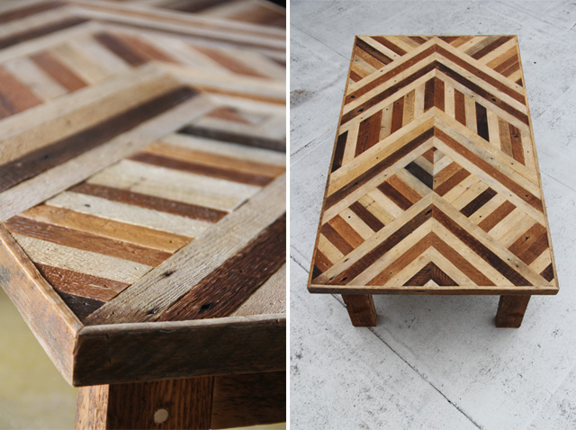 coffee table patterns plans