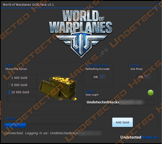 World of Warplanes free gold