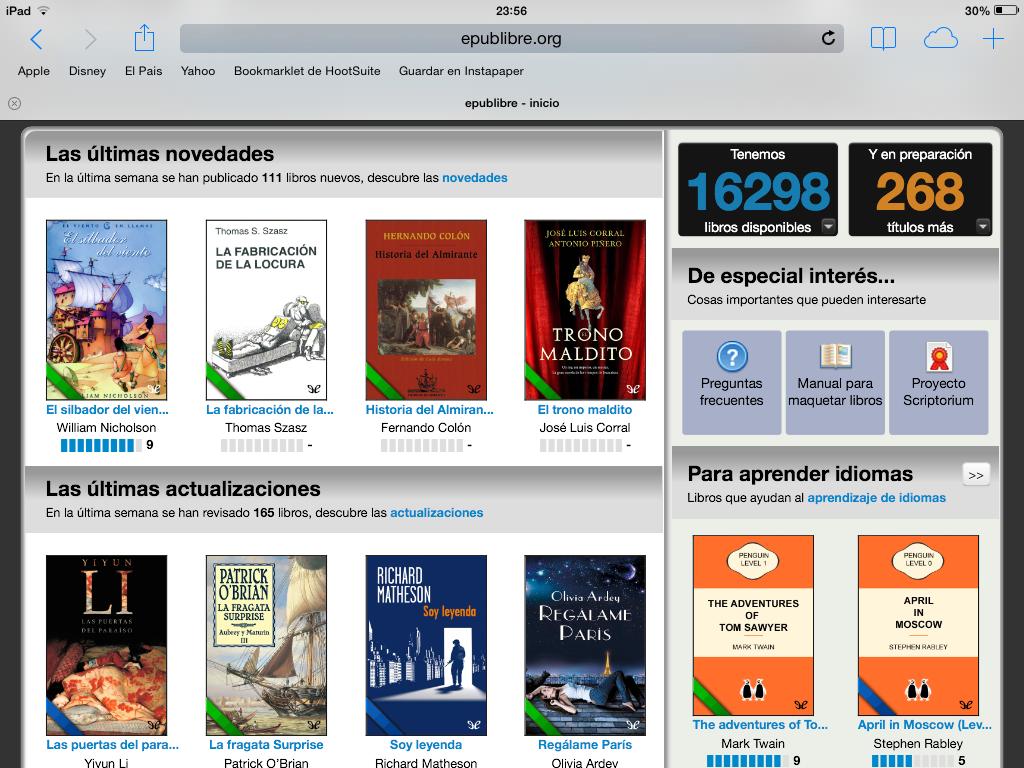 Descargar libros Gratis iOS