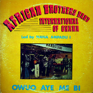 African Brothers Band International of Ghana -Owuo Aye Me Bi, Makossa 1982