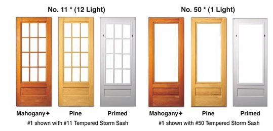 Images Of Wooden Combination Storm Doors Losro